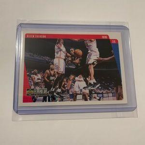 Allen Iverson '98 Upper Deck Card